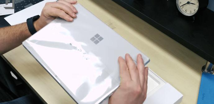 Surface Pro 4 caja