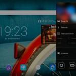 Lenovo Yoga tablet barra lateral
