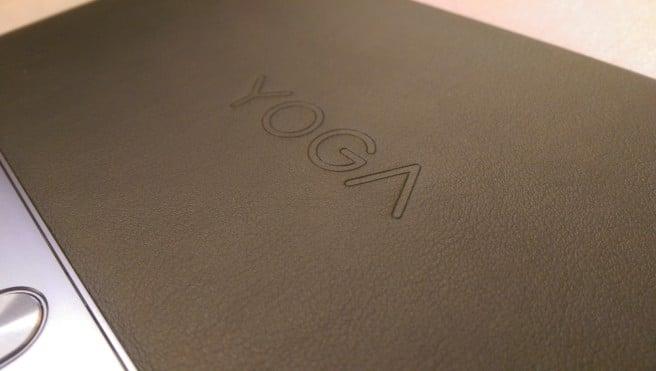 Lenovo Yoga tablet cubierta trasera