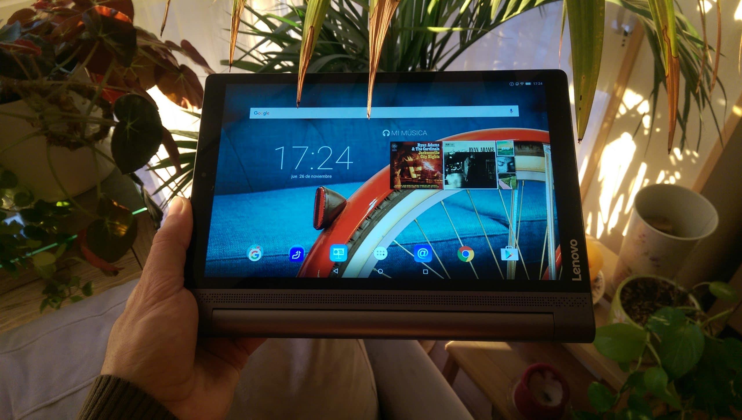Lenovo Yoga tablet foto frontal