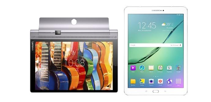 Lenovo Yoga Tab 3 Pro Samsung Galaxy Tab S2