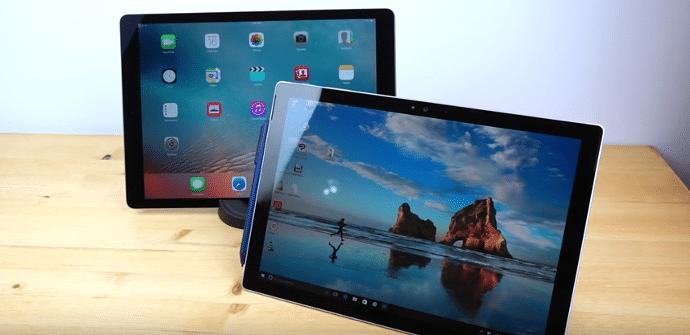 Apple iPad Pro Microsoft Surface Pro
