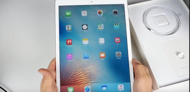 iPad Pro caja