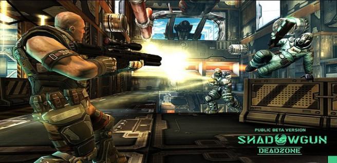 shadowgun deadzone pantalla
