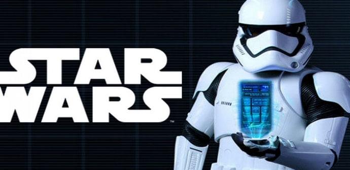 star wars app anuncio