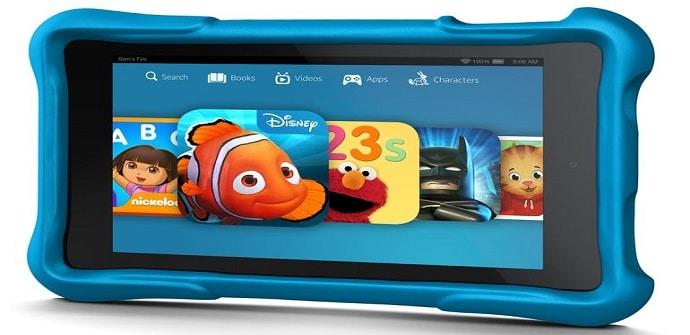 tablet niños pantalla