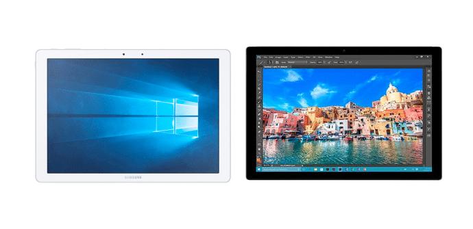 Samsung Galaxy TabPro S Microsoft Surface Pro 4