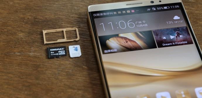 Huawei Mate 8 Micro SD