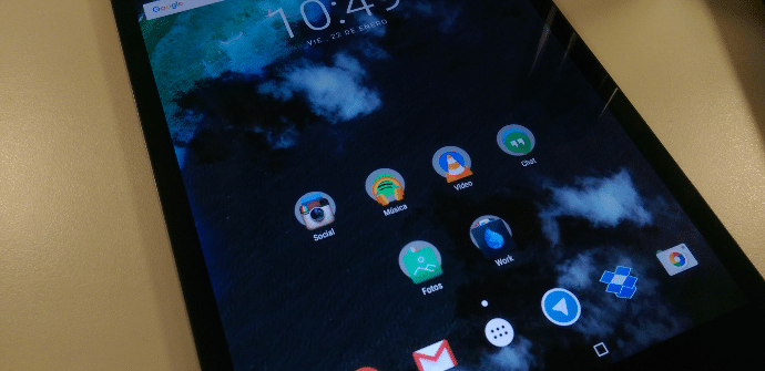 Android Marshamallow Launcher
