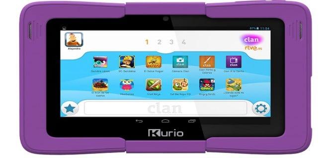 clan tablet pantalla