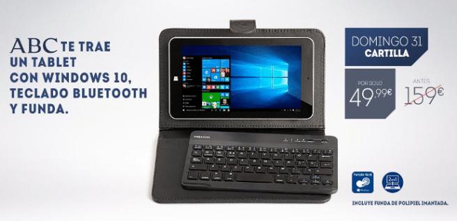 tablet teclado prixton