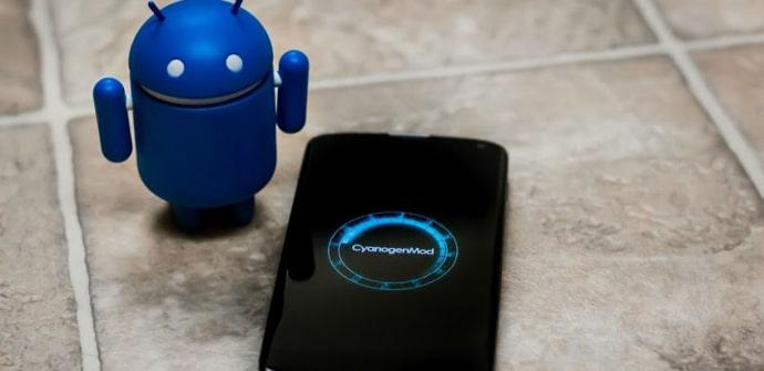 powered by CyanogenMod