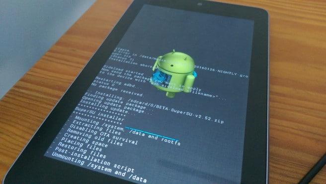 Google Nexus 7 root