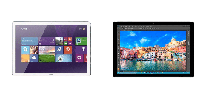 Huawei MateBook Microsoft Surface Pro 4