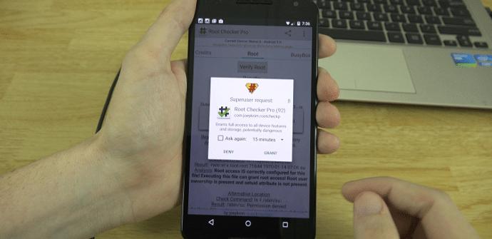 Motorola Nexus 6 superusuario