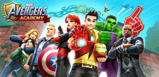 marvel avengers academy juego
