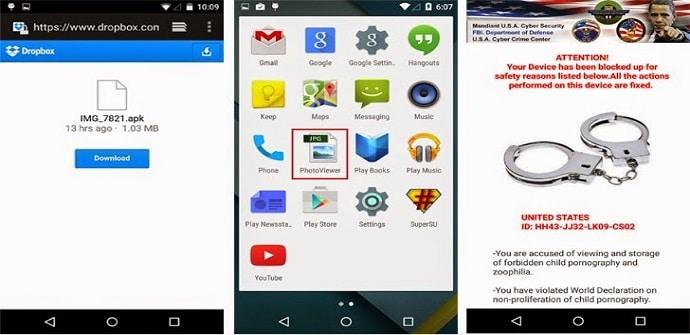 ramsonware android aviso