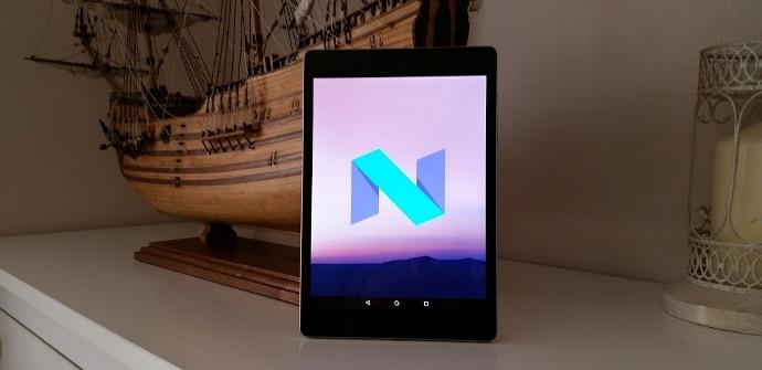 Nexus 9 actualizada