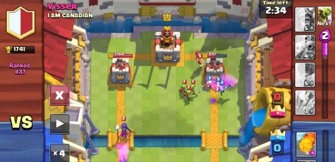 Clash-Royale duelo