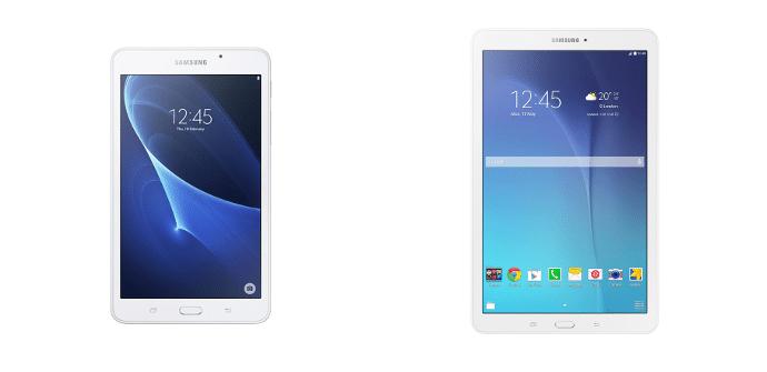 Samsung Galaxy Tab A 7 Samsung Galaxy Tab E