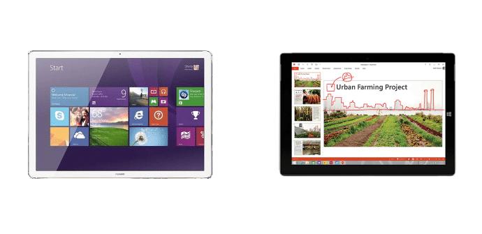 Huawei MateBook Microsoft Surface 3