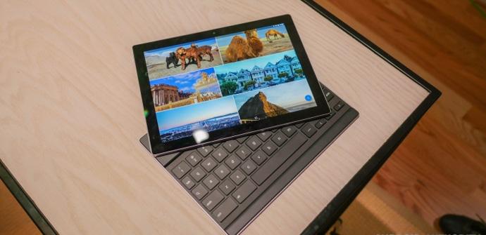 Tablet Pixel C mas teclado