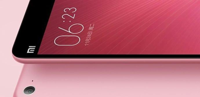 mi pad 2 android rosa