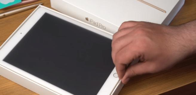iPad Pro 9.7 unboxing