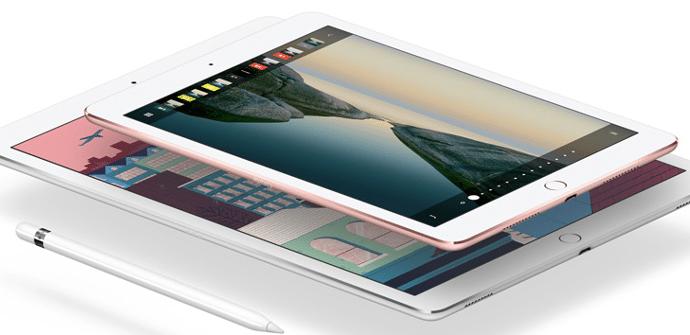 toma de contacto iPad Pro 9.7