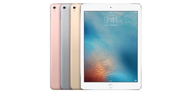 iPad Pro 9.7 oro rosa blanco negro