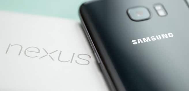 Samsung S7 Edge y Google Nexus 6P comparados