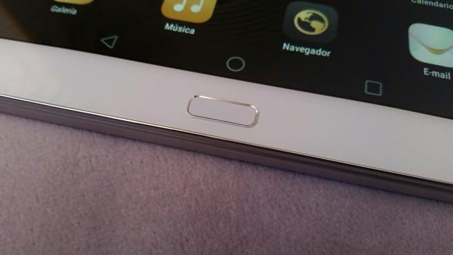 Tablet Huawei huella digital