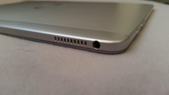 Tablet Huawei puerto jack