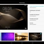 EMUI Tablet app de temas