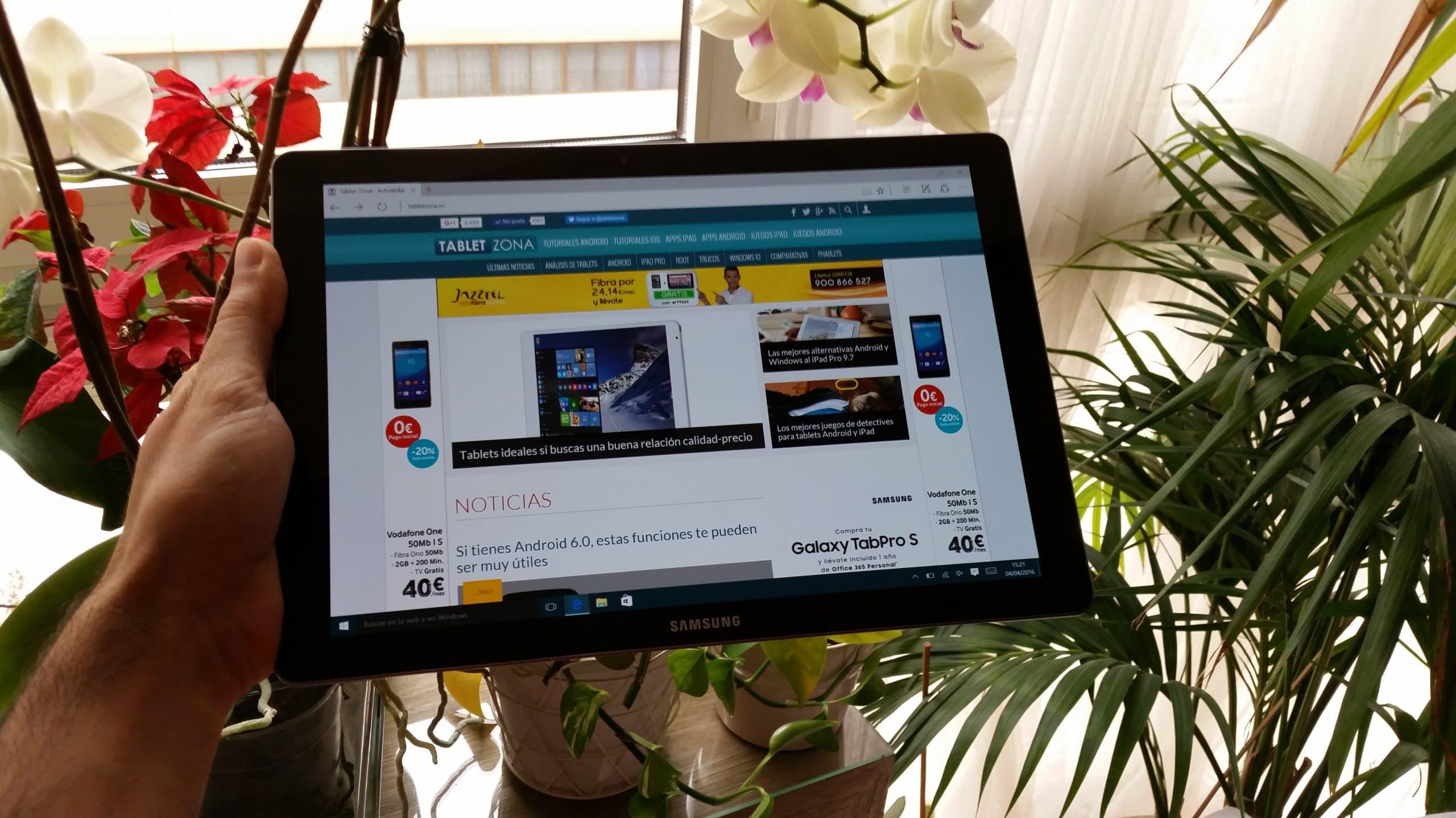 TabPro S con Windows 10 Analisis y valoracion