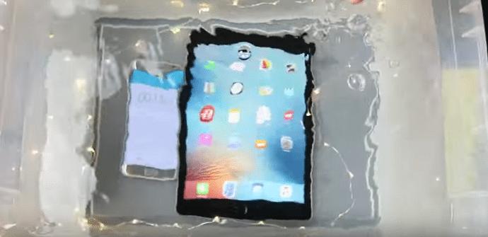 iPad Pro test de resistencia