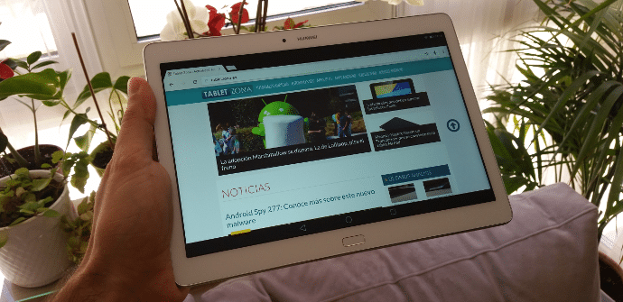 Huawei tablet Mediapad prueba
