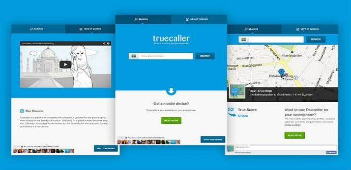 truecaller pantalla