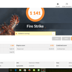 Notebook E15 Fire Strike