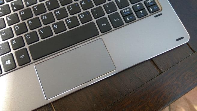 HiBook 10.1 trackpad
