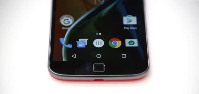 Motorola Moto G4 Plus escaner