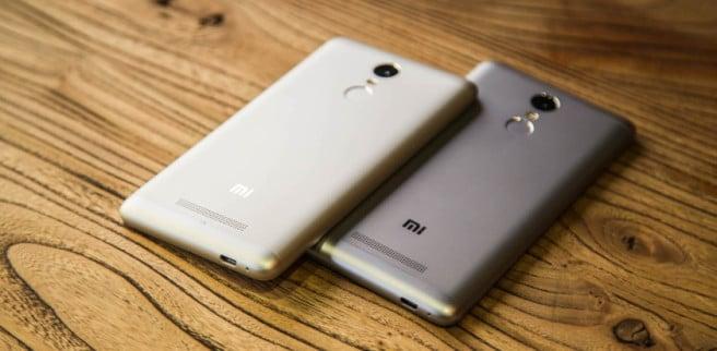Redmi Note 3 Pro oro y gris