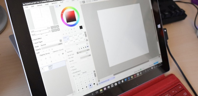 Aplicacion de Paint en Windows store