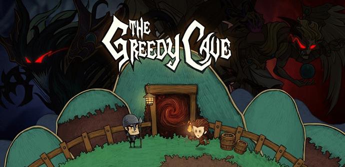 the greedy cave pantalla