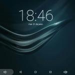 tablet SPC 64 bits Pantalla de Inicio