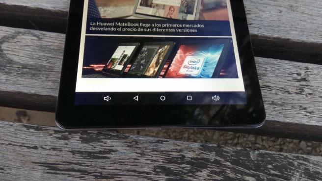 tablet SPC 64 bits barra de navegacion