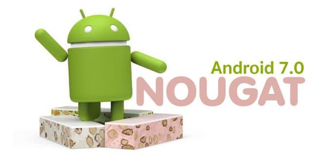 Android 7 lanzamiento