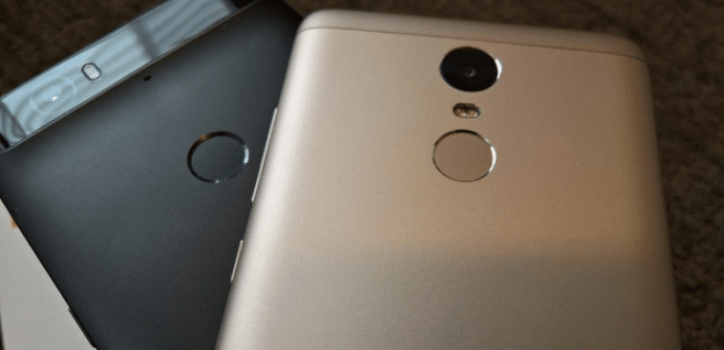 Google Nexus 6P Xiaomi Redmi Note 3 Pro