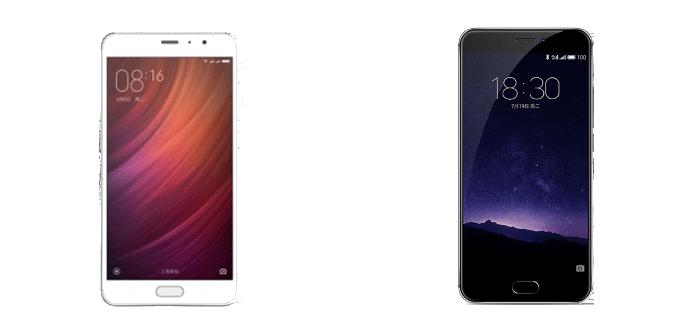 Xiaomi Redmi Pro Meizu MX6