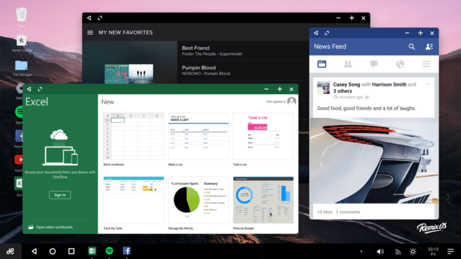 Remix OS Android 6 Marshmallow